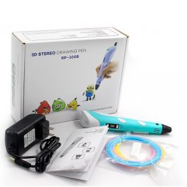 3D ручка Myriwell RP100B с LCD экраном синяя