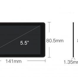Дисплей (Матрица) LCD для DLP 3D принтера Anycubic Photon