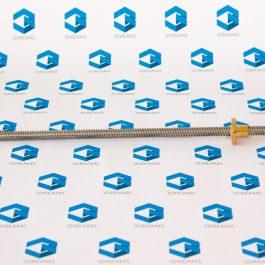 Ходовой винт с трапецеидальной резьбой T8*8 мм х 400 мм
