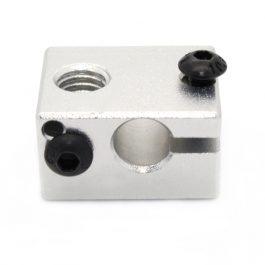 Алюминиевый нагревательный блок МК7/МК8 для 3D принтера