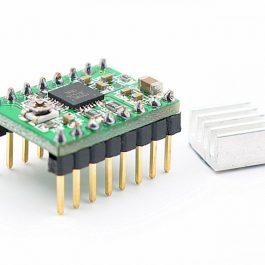 Драйвер шагового двигателя А4988 для 3D принтера