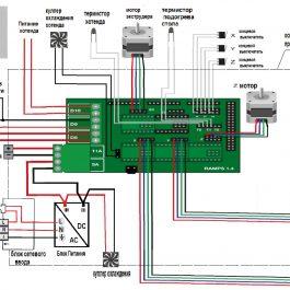 Облегченный шаговый двигатель NEMA17 17HS3401