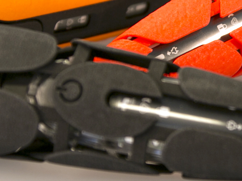 напечатанный на 3d принтере прототип бритвы