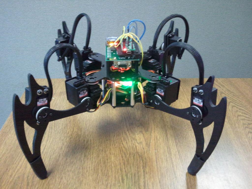 печать робота на 3д принтере