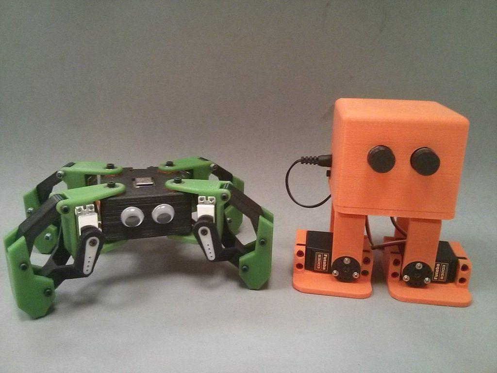 3d печать робота в харькове