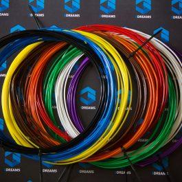 Пластик для 3D ручки ABS (набор 9 цветов) диаметр 2.9 мм