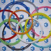 Пластик для 3D ручки PLA (набор 10 цветов) диаметр 1.75 мм