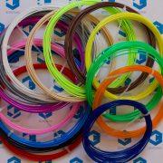 Пластик для 3D ручки PLA (набор 14 цветов) диаметр 1.75 мм купить украина