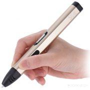 3D ручка DEWANG Х4 с LCD экраном золотая купить киев харьков днепр одесса 1