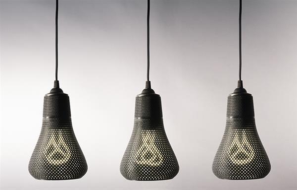 3д печать светильника в украине
