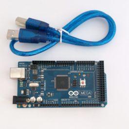Материнская плата Arduino Mega 2560 с контроллером ATmega16U2