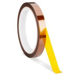 Термостойкий скотч Каптон для 3D печати 10мм х 33м
