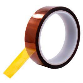Термостойкий скотч Каптон для 3D печати 20мм х 33м