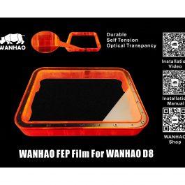 Тефлоновая FEP пленка для ванночки для DLP 3D принтера Wanhao Duplicator D8
